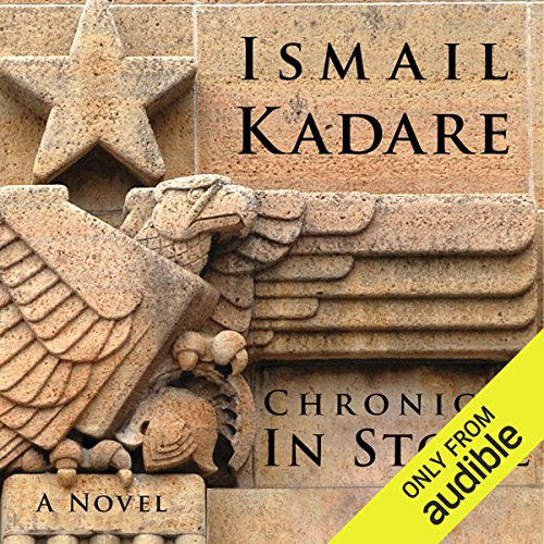 Chronicle in Stone audiobook cover art
