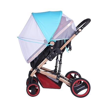 Liveinu Universal Insektenschutz Mit Reißverschluss Für Kinderwagen Buggy Reisebett Pop Up Moskitonetz Fliegennetz Mückennetz Insekt Netz Netting Für Kinderwägen Cradles Sportwagen Jogger Baby