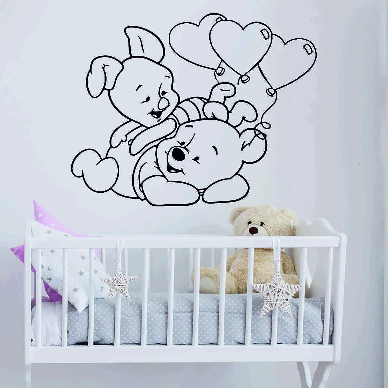 DesignQualityService Winnie Winnie Winnie Pooh Wandtattoo für ...