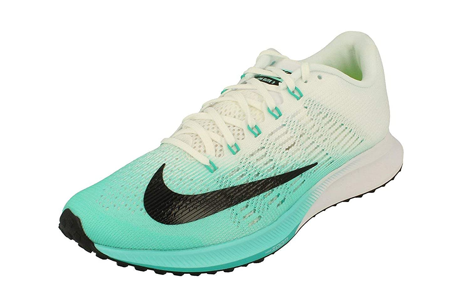 時間軽減する高原Nike Womens Air Zoom Elite 9 Running Trainers 863770 Sneakers Shoes