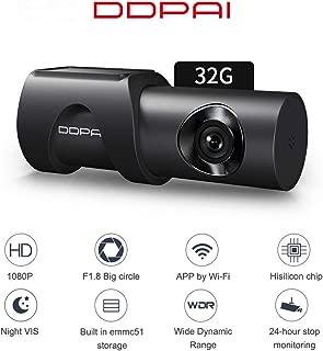 Festnight DDPAI,Minione 1080 HD Dash Cam DVR EMMC5.1 Sensor Night Vision 32GB Car Dash Camera 24H Parking Recorder
