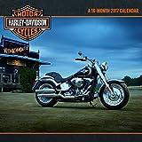 Trends International 2017 Wall Calendar, September 2016 - December 2017, 11.5' x 11.5', Harley-Davidson
