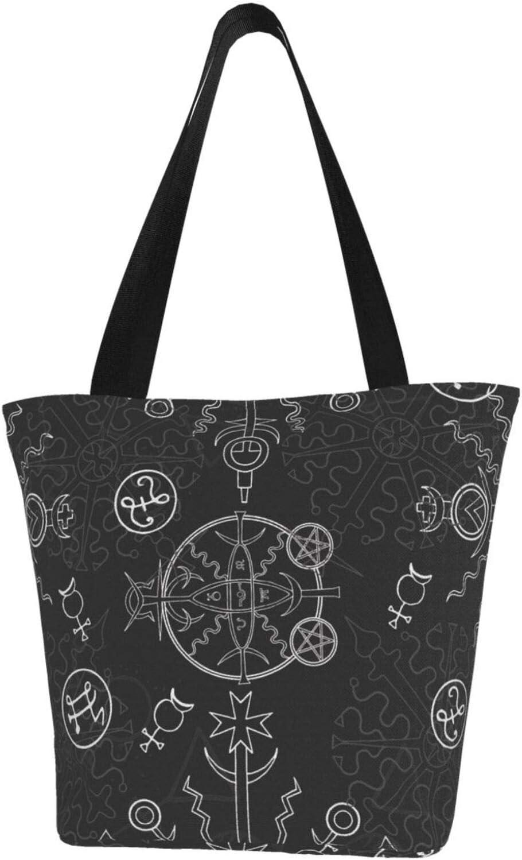 AKLID Retro Black and White Viking Runes Large Symbol Wate Fashion Extra store