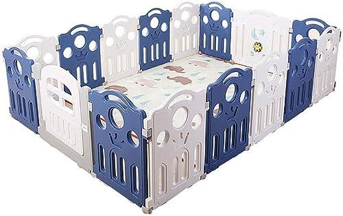 descuento de ventas Cerca De Seguridad para para para Bebés - Parque para Bebés Grande con 16 Paneles - Centro De Actividades De Juegos para Niños - Separador De Habitación Barrera De Seguridad para Niños - 250x180x70cm  entrega gratis