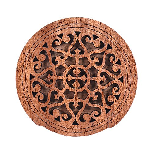 ammoon Guitar Wooden Soundhole Cover