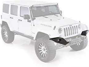Smittybilt 76828 XRC Full Width End Plate for Jeep Wrangler JK 2/4-Door for the MOD 76825 Bumper System