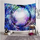 Galaxy Hanging Wall Tapisserie Coloré Imprimé Décor Tapisserie Tapis Salon Couverture Yoga Tapis De Plage 150 * 200 Cm