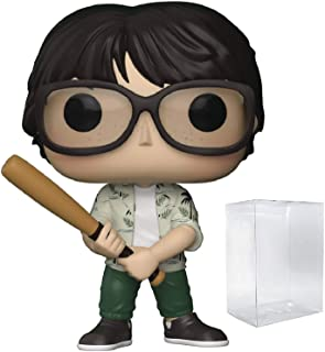 Funko Pop! Movies: Stephen King's It - Richie Tozier with Bat Vinyl Figure (Bundled with Pop Box Protector Case)