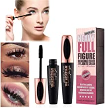 SUNNYM 4D Makeup Eyelash Mascara Eye Lashes Makeup Silk Fiber Lash Mascara Black Thick Lengthening Eye Lashes