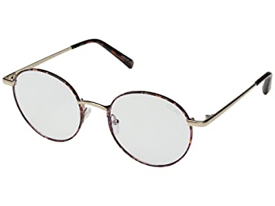 QUAY AUSTRALIA I See You Blue Light Glasses (Tort/Clear Blue Light) Fashion Sunglasses