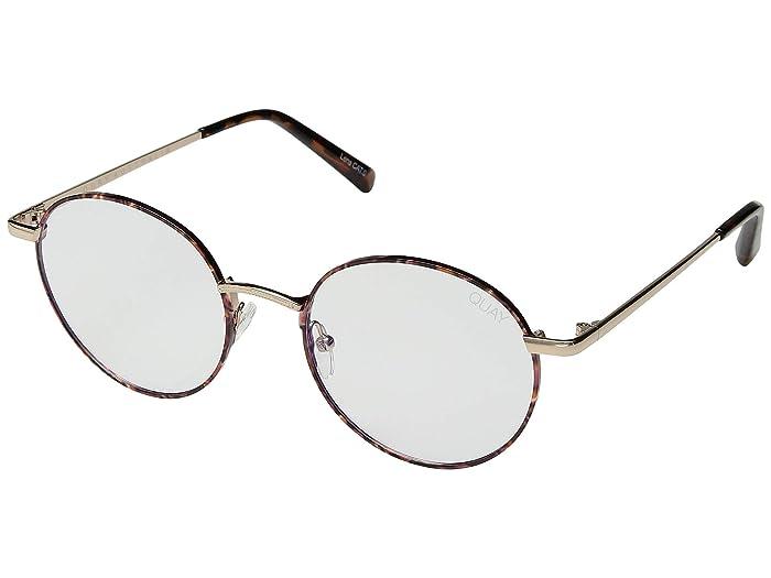 Retro Sunglasses | Vintage Glasses | New Vintage Eyeglasses QUAY AUSTRALIA I See You - Blue Light Glasses TortClear Blue Light Fashion Sunglasses $60.00 AT vintagedancer.com