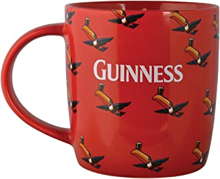 Guinness Mug with Flying Toucans (Red Multiple)