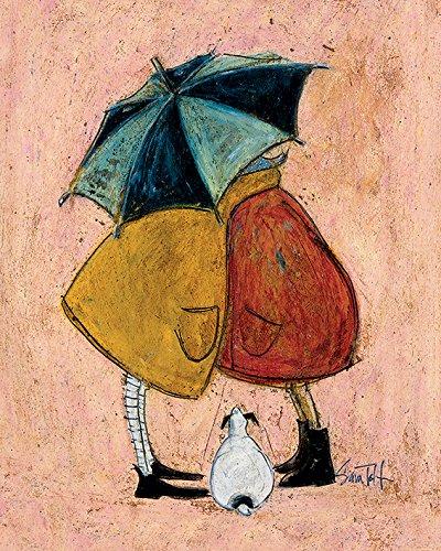 Sam Toft Leinwanddruck, Polyester, Mehrfarbig, 40 x 50 cm
