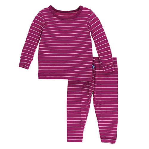 KicKee Pants Print Long Sleeve Pajama Set da0841efc
