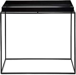 HAY Tray Table - Mesa auxiliar rectángula negro/40x60x54cm
