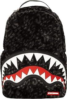 58b0134b77 Sprayground - Sac à dos unisexe adulte Dlx Fur W/Rubber Shark, O/