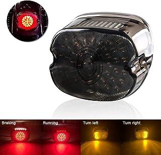 Luz trasera de motocicleta,Tickas Luz de freno de cola trasera ATV 18L-ED para 50 70110 125cc Quad TaoTao Sunl