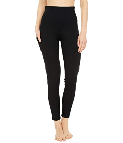 Yummie Rachel Shaping Cotton Stretch Leggings with Pockets Women