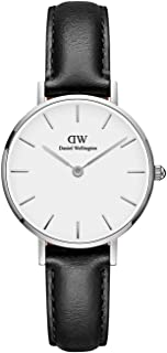 Daniel Wellington Petite Sheffield Watch, Italian Black Leather Band