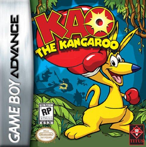 GameBoy Advance - Kao the Kangaroo