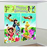 Scene Setters Wall Decorating Kit | Disney Tinkerbell Collection | Birthday