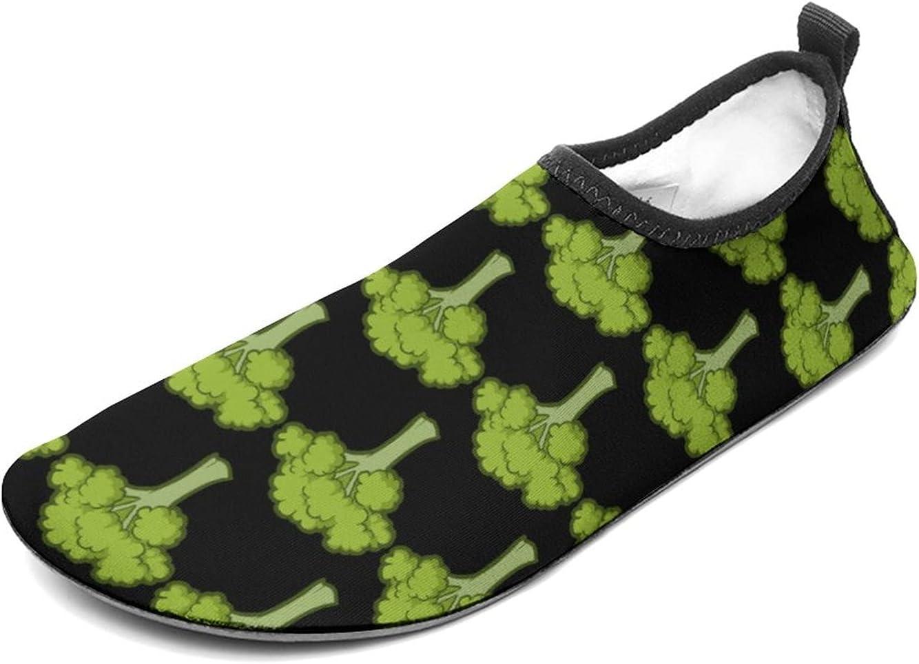 WEEDKEYCAT Broccoli Tree Fun Water Shoes for Men Women Aqua Sock