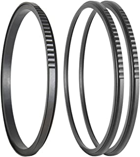 Xume Lens Adapter 72mm - Bundle - with Two (2) 72mm Filter Holders, Breakthrough Photography 72mm Center-Pinch Lens Cap