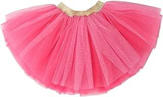 WGOODTECK Newborn Infant Baby Girls Super Soft Glitter Sparkle Tulle Tutu Skirt …