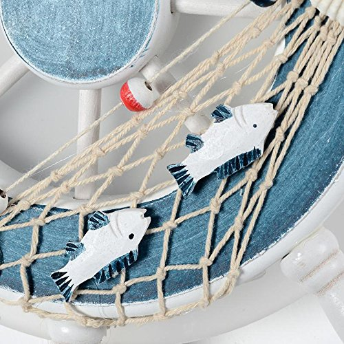 INHDBOX 22W Wall Sconces Bedroom Bed for Boys Girls Kids Room Balcony Retro Look,Hallway Cartoon Creative Rudder Light