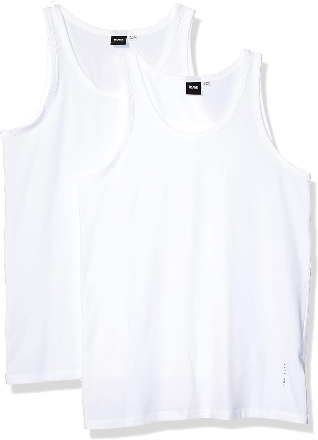 BOSS HUGO Men's 2-Pack Stretch Top Limited price Tank Brand new Cotton