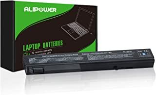 Alipower High Performance 8-Cell Battery Replacement for HP EliteBook 8530P 8540P 8530W 8540W 8730W 8740W / HP ProBook 6545B, fits P/N KU533AA 493976-001 - 12 Months Warranty