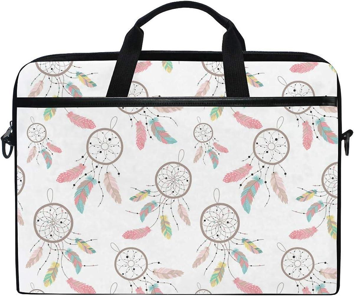 AGONA Pink Dream Max 86% OFF Catcher Laptop Shoulder Easy-to-use Messenger inch Bag 15 C