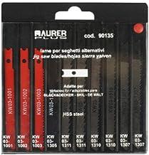 MAURER 7120600 Hoja Sierra Calar Surtido Black&Decker / 10 Piezas