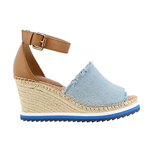 189754e4854 Denim Wedge Sandals  Amazon.com