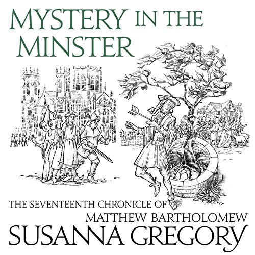 Mystery in the Minster audiobook cover art