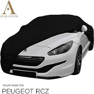 Compatible Avec Peugeot RCZ Housse Sp/éciale For Voiture Protection Solaire Contre La Pluie Protection Contre Les Intemp/éries B/âche Imperm/éable For La Berline,Black