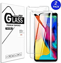 [2 Pack] LG stylo 5 Screen Protector Tempered Glass,Buluby Case Friendly Anti Scratch Bubble Free 9H Hardness HD Clear Protective Film for LG Stylus 5