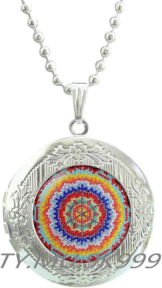 Yao0dianxku Mexican Ornamental Art San Antonio Mall Mexic Pendant Super beauty product restock quality top Locket