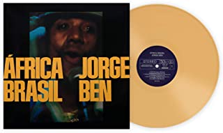 África Brasil - Exclusive Club Edition Yellow 180 Gram Vinyl LP