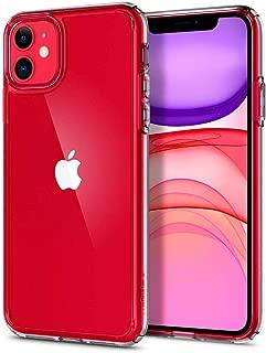 【Spigen】 iPhone 11 ケース 6.1インチ 対応 全面 クリア 米軍MIL規格取得 耐衝撃 カメラ保護 衝撃吸収 Qi充電 ワイヤレス充電 ウルトラ・ハイブリッド 076CS27185 (クリスタル ・クリア)