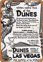 1957デューンズホテルカジノラスベガスコレクティブルウォールアート