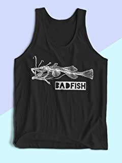 Bad Fish Tank Top - Mens Sublime Shirt - Sublime Tank Top - Sublime T Shirt - Mens Graphic Tank Top - Mens Festival Clothing - Mens Festival Shirt