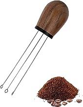 اداة بمقبض خشبي لتوزيع القهوة اداة تقليب القهوة مقاس 51 و 58 مم من ميبرو تستخدم لتجنب تكتل القهوة