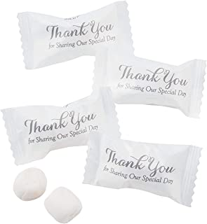 Thank You For Sharing our Special Day Buttermints (108 mints) Wedding Candy