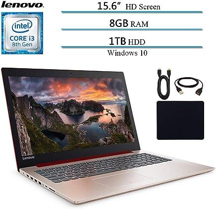"""Lenovo Ideapad 330 2019 Newest Premium 15.6"""" HD Laptop Computer Notebook, Intel Core i3-8130U (Beat i5-7200U), 8GB RAM, 1TB HHD, Intel UHD 620, Win 10, Purple W/ Masdrow 29.9 Value Accessories Bundle"""