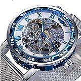 Excellent Reloj clásico de Esqueleto del Esqueleto mecánico...