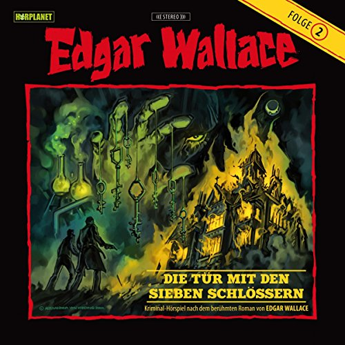 Die Tür mit den sieben Schlössern (Edgar Wallace 2) audiobook cover art
