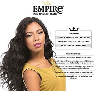 sensationnel 100% human hair weaving empire body wave