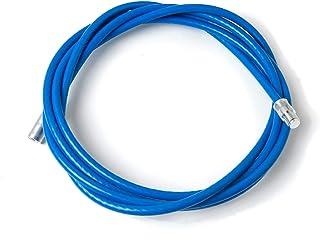 BARETTO Rallonge flexible en acier revêtu pour kit pour nettoyage du poêle à granulés - Longueur 3 mètres - Adaptée aux po...