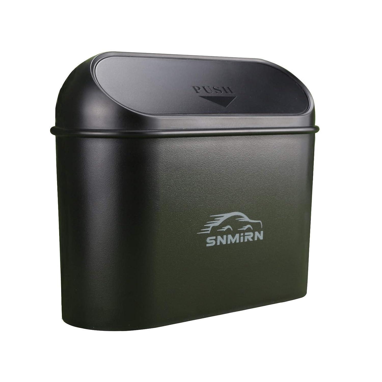 SNMIRN Car Trash Can with Vehicle Lid Bin Dustbi Jacksonville Mall Mini Max 81% OFF